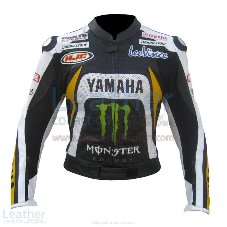 Ben Spies Yamaha Monster 2010 Leather Jacket – Yamaha Jacket