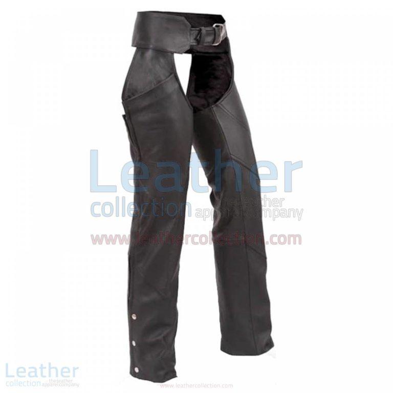 Black Leather Chaps –  Chap