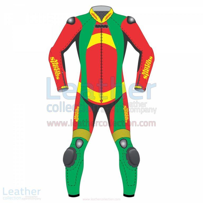 Bravo Leather Biker Suit –  Suit
