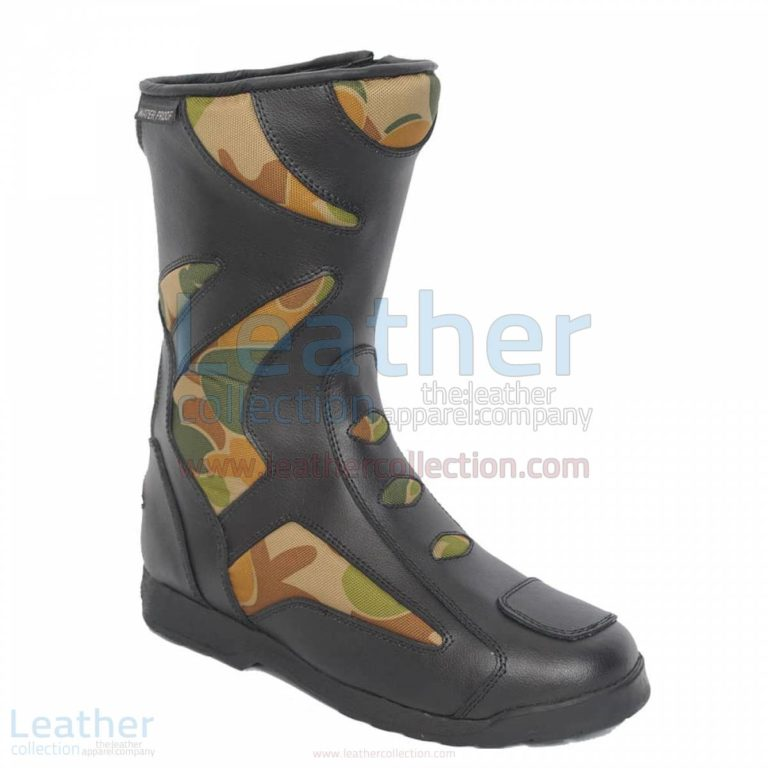 Camo Riding Boots –  Boot