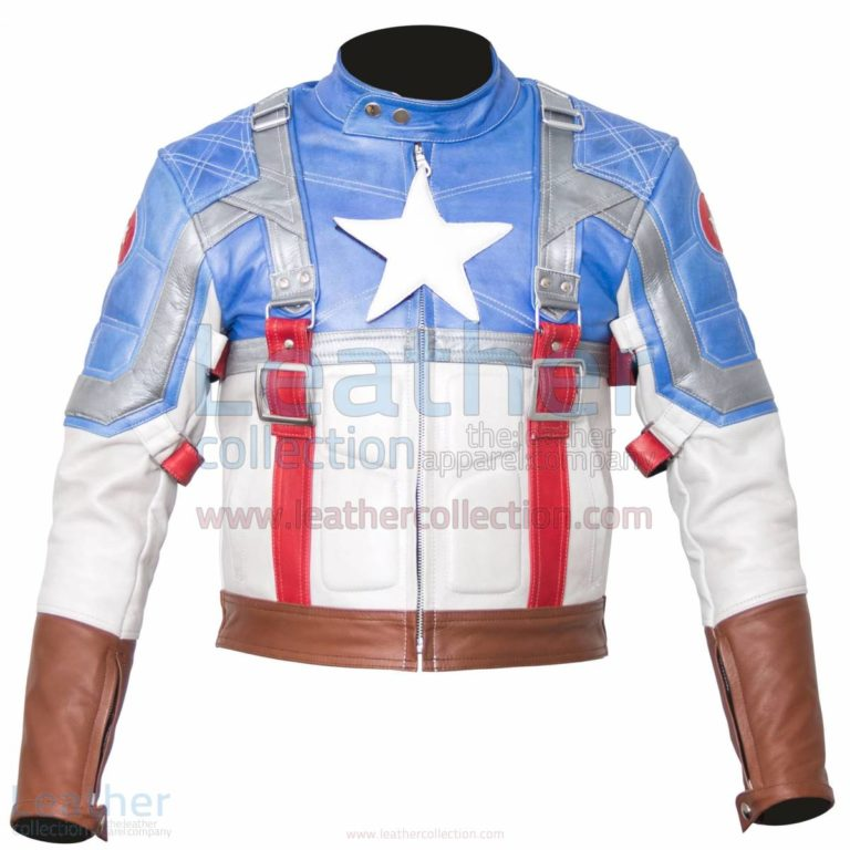 Captain America The First Avenger Leather Jacket –  Jacket