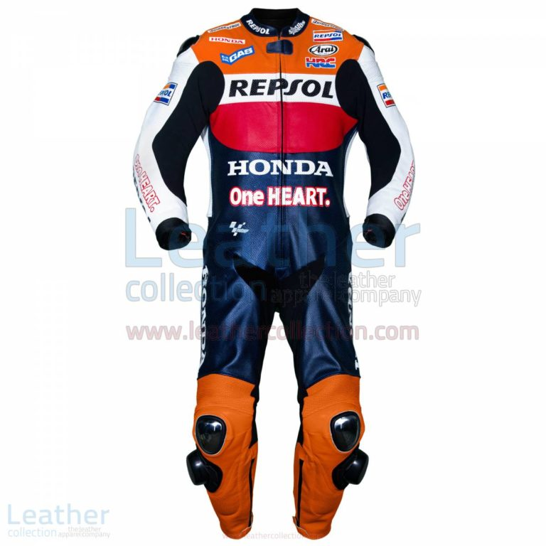Casey Stoner 2012 One Heart Honda Repsol Leathers – Honda Suit
