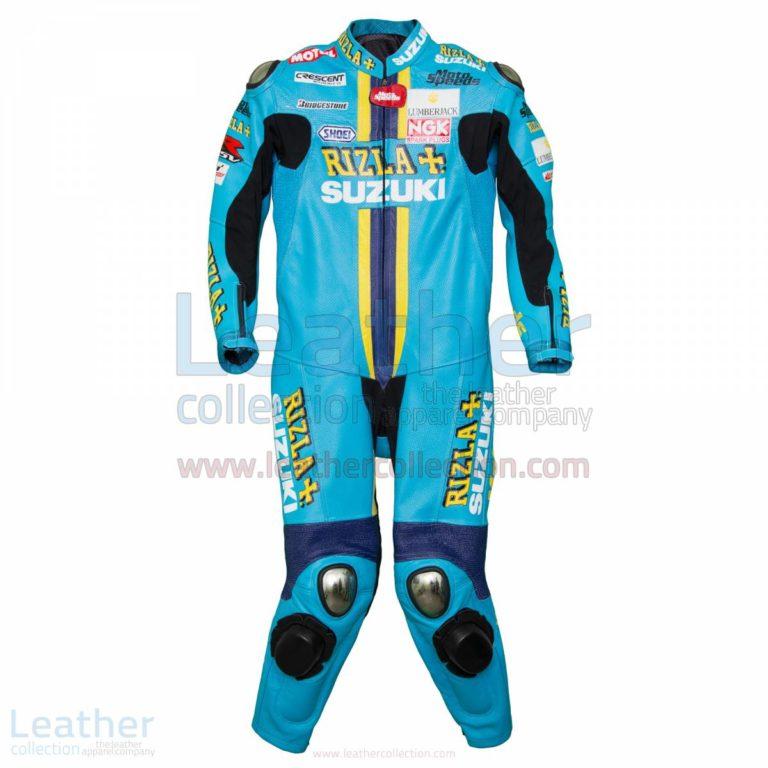 Chris Vermeulen Rizla Suzuki 2008 MotoGP Leathers – Suzuki Suit