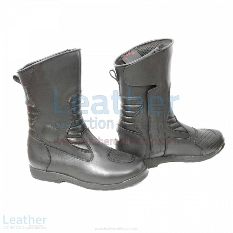Classic Motorcycle Boots Black –  Boot