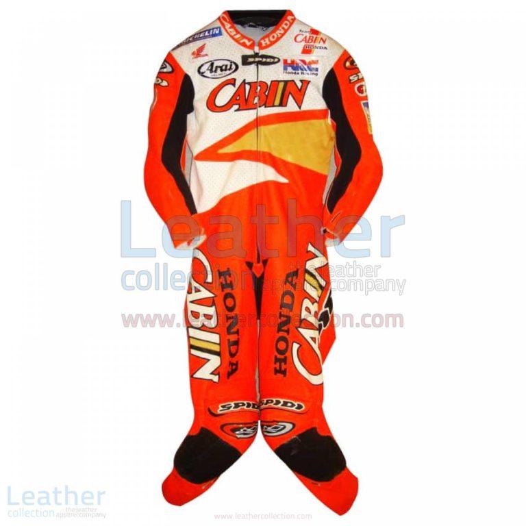 Colin Edwards Honda Leathers 2002 Suzuka 8 Hours – Honda Suit