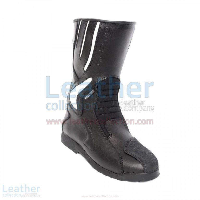 Crescent Leather Moto Boots –  Boot