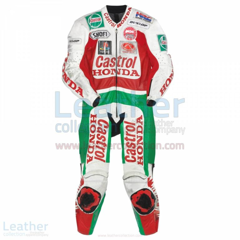 Daijiro Kato Castrol Honda GP 1999 Leather Suit – Honda Suit