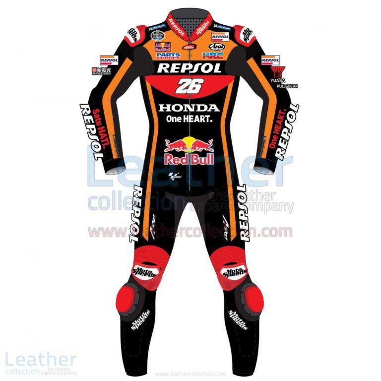 Dani Pedrosa 26 Honda Repsol Black Suit 2017 – Honda Suit