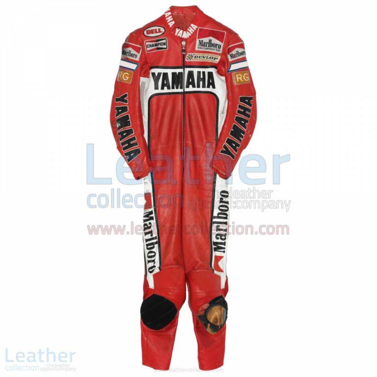 Eddie Lawson Marlboro Yamaha GP 1988 Leathers – Yamaha Suit