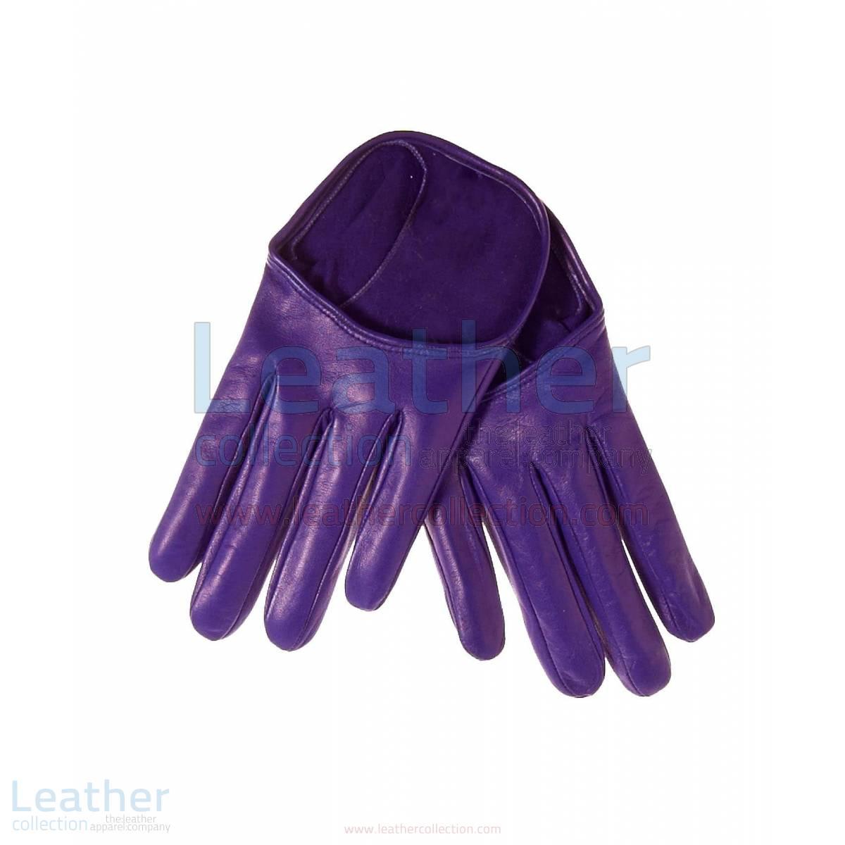 Fashion Short Leather Gloves –  Gloves