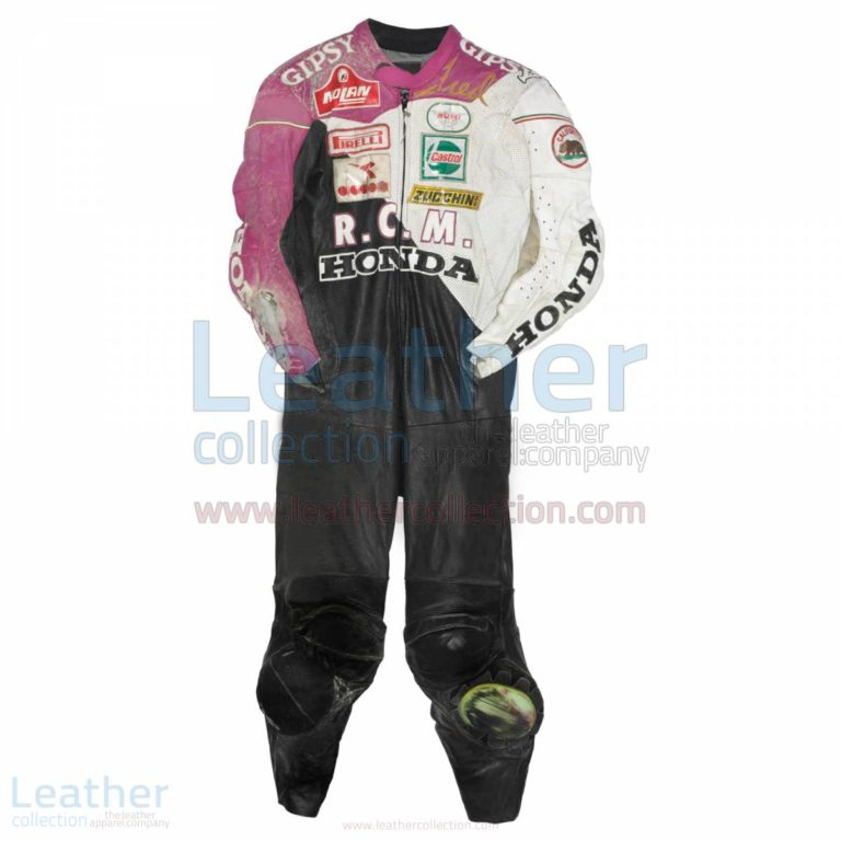 Fred Merkel Honda WSBK 1989 Leather Suit – Honda Suit