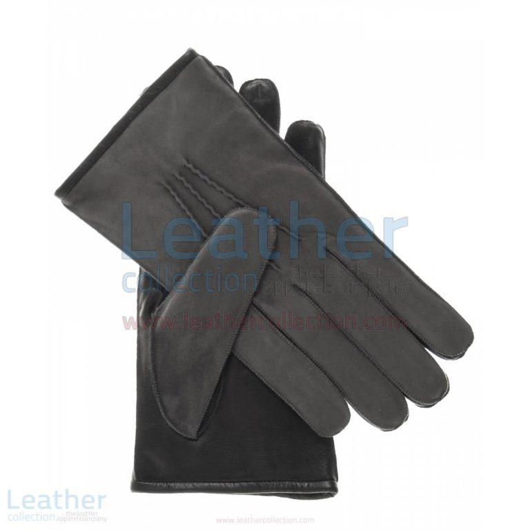 Suede and Lambskin Gloves –  Gloves