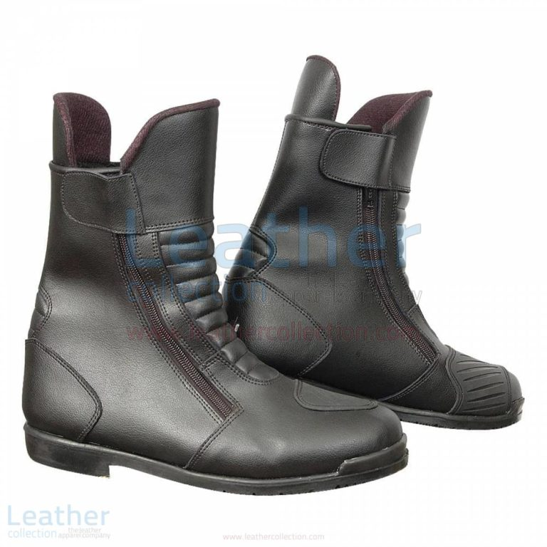 Heritage Black Motorcycle Boots –  Boot