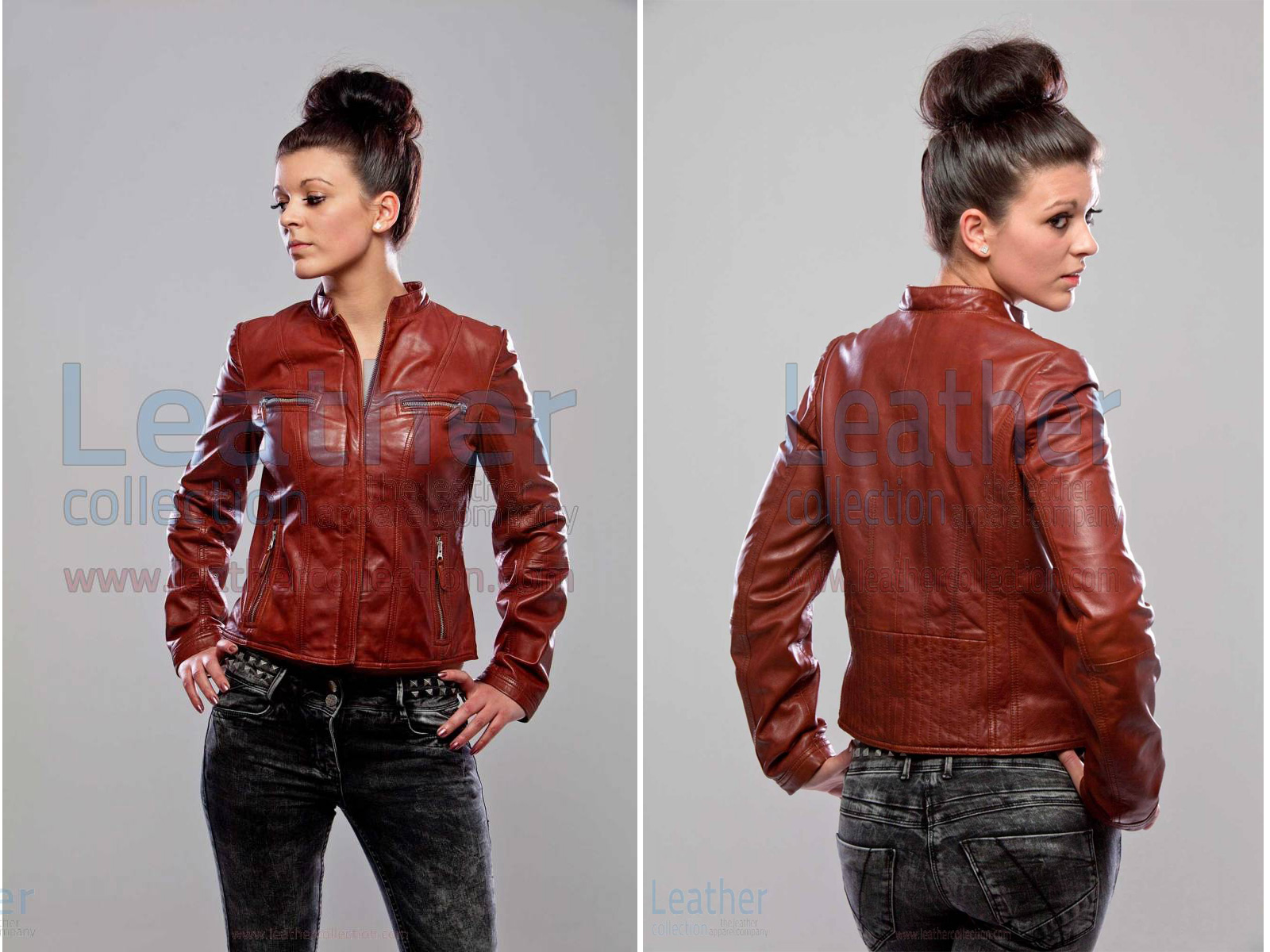 KARMA JACKET LEATHER WOMEN