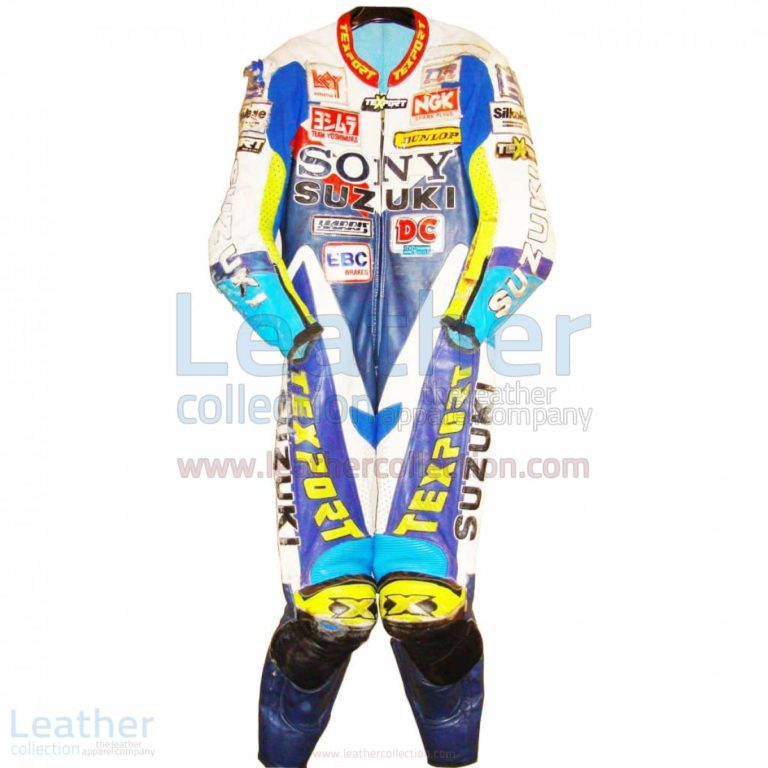 James Haydon Suzuki BSB 1998 Leathers – Suzuki Suit