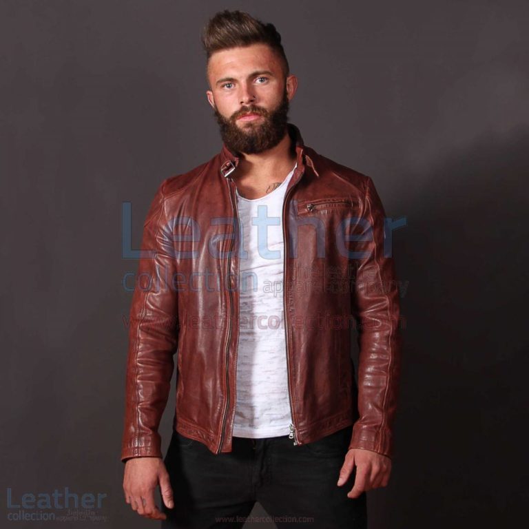 Jazz Leather Jacket for Men –  Jacket
