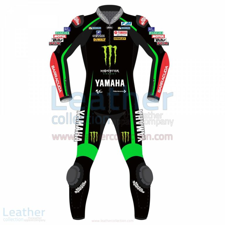 Johan Zarco Yamaha Monster Tech 3 2017 Leather Suit – Yamaha Suit