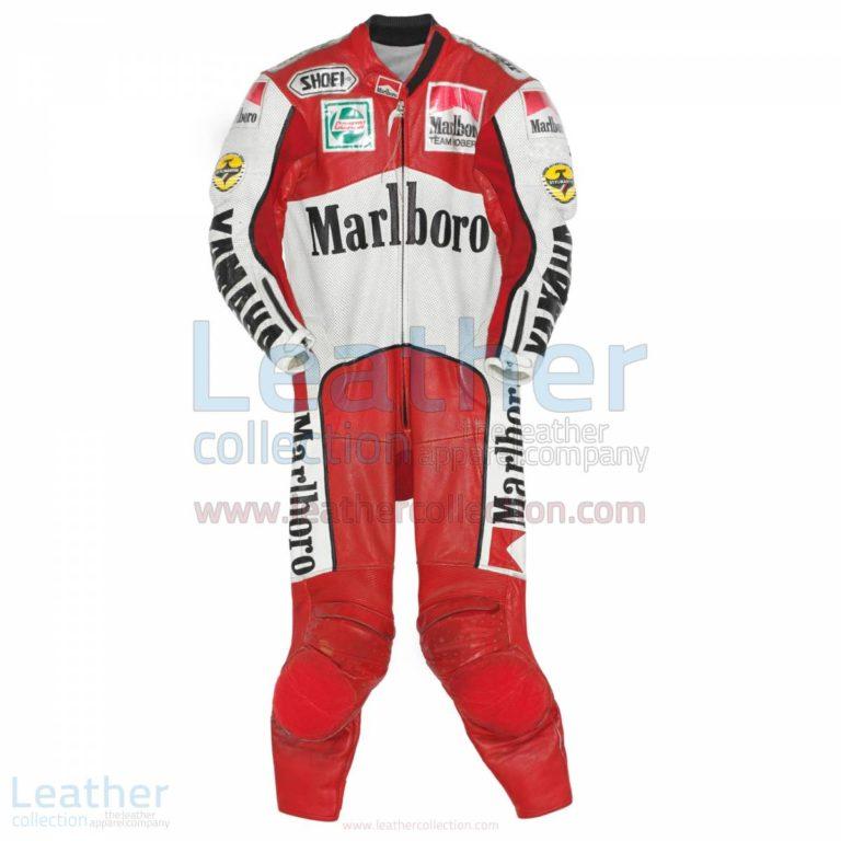 John Kocinski Marlboro Yamaha GP 1990 Leather Suit – Yamaha Suit