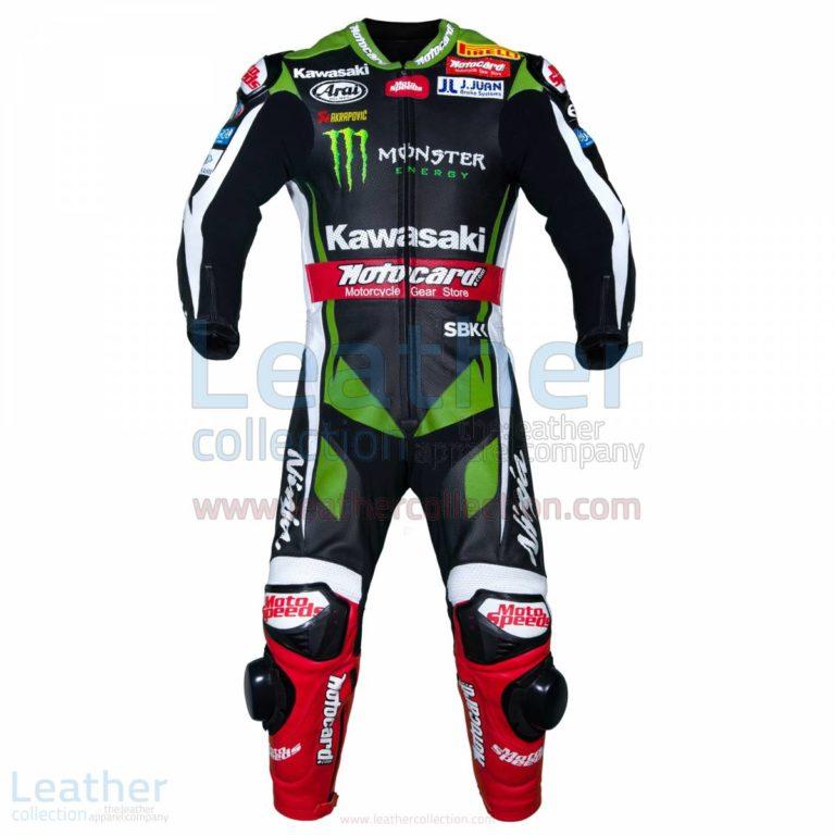 Jonathan Rea Kawasaki WSBK 2017 Racing Suit – Kawasaki Suit