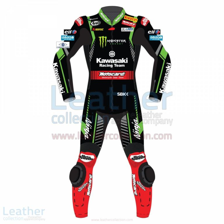 Jonathan Rea Kawasaki WSBK 2018 Leather Suit – Kawasaki Suit