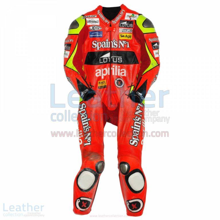 Jorge Lorenzo Aprilia GP 2007 Leather Suit – Aprilia Suit