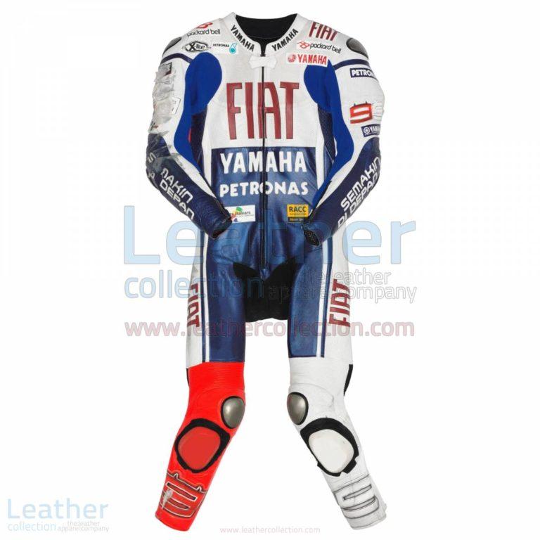 Jorge Lorenzo Yamaha Fiat MotoGP 2010 Leathers – Yamaha Suit