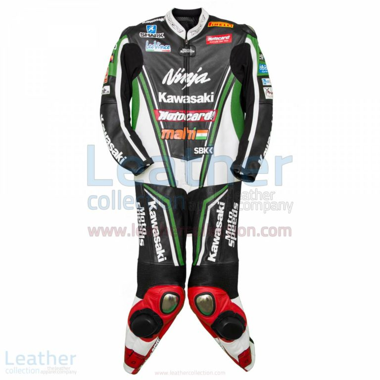 Kawasaki Ninja Tom Sykes 2013 Champion Leathers – Kawasaki Suit
