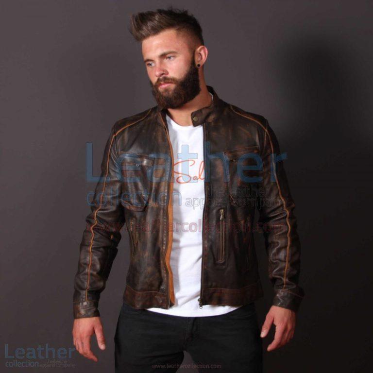 Leather Outlaw Jacket for Men –  Jacket