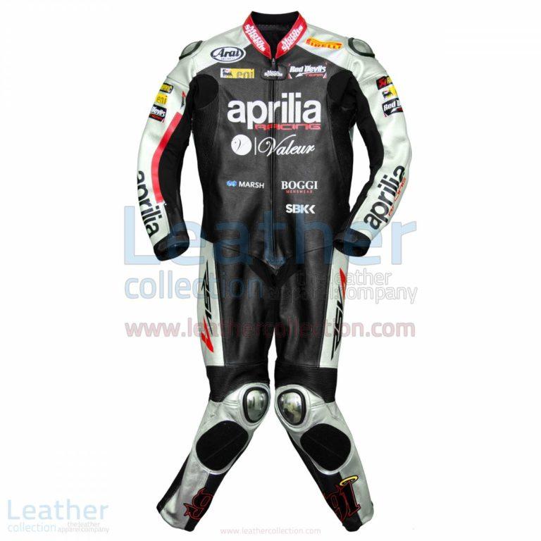Leon Haslam Aprilia 2015 WSBK Racing Leathers – Aprilia Suit