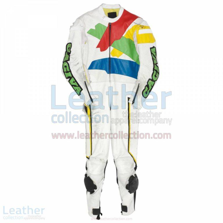 Marco Lucchinelli Cagiva GP 1985 Race Suit – Cagiva Suit