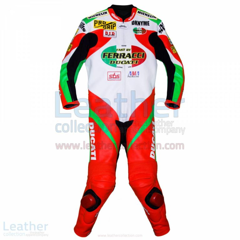 Mat Mladin Ducati AMA Race Suit – Ducati Suit
