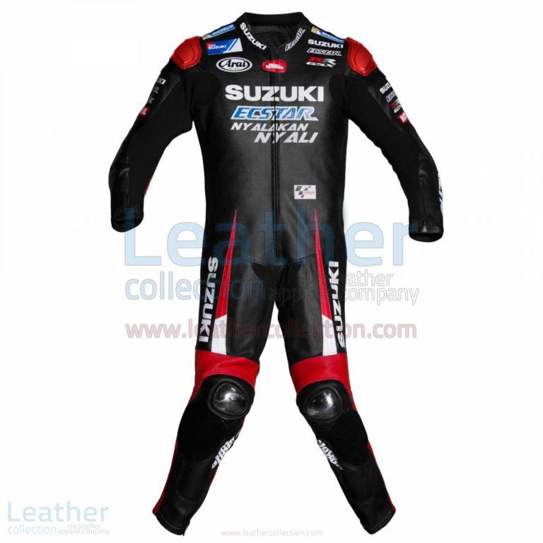 Maverick Vinales Suzuki MotoGP 2016 Leather Suit – Suzuki Suit