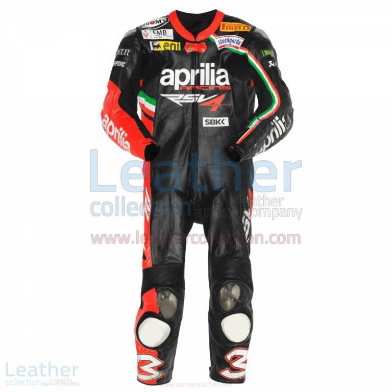 Max Biaggi Aprilia 2012 Race Leathers – Aprilia Suit