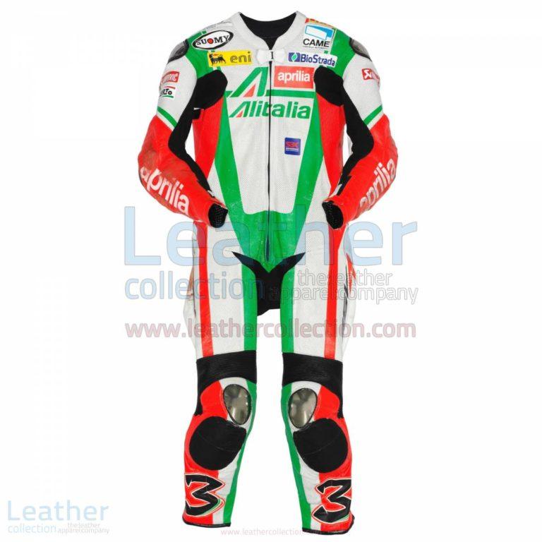 Max Biaggi Aprilia WSBK 2010 Leathers – Aprilia Suit
