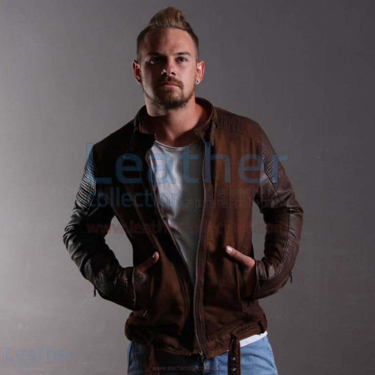 Men Fashion Urban Leather Jacket –  Jacket