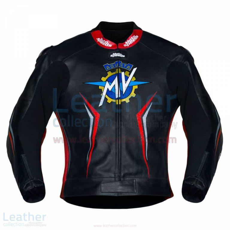 MV Agusta 2017 Motorcycle Leather Jacket – MV Agusta Jacket