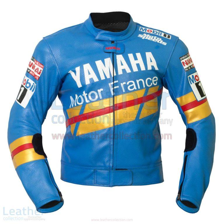 Niall Mackenzie Yamaha GP 1991 Leather Jacket – Yamaha Jacket