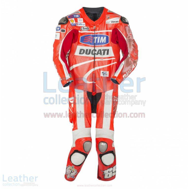 Nicky Hayden Ducati 2013 MotoGP Race Leathers –  Suit