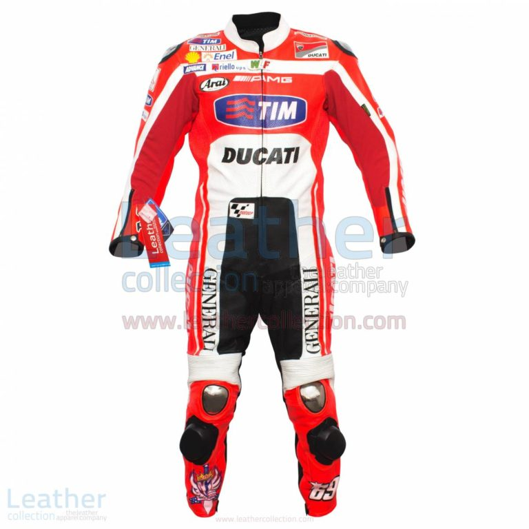 Nicky Hayden Ducati MotoGP 2012 Race Leather Suit –  Suit