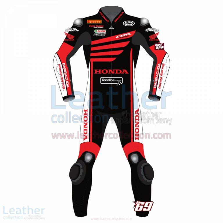 Nicky Hayden WSBK Winter Test Honda 2015 Motorcycle Suit – Honda Suit