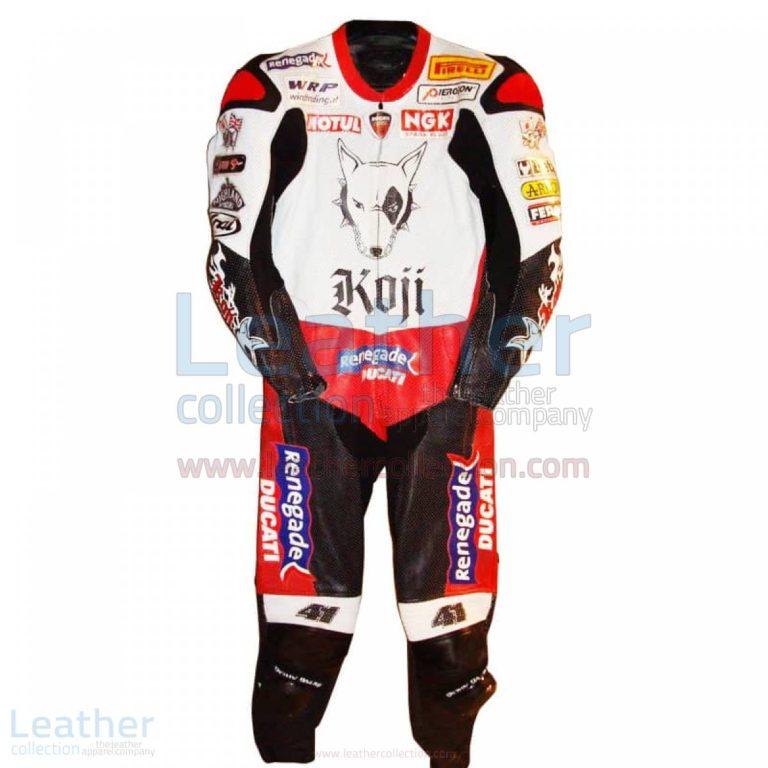 Noriyuki Haga Ducati WSBK 2004 Racing Suit – Ducati Suit