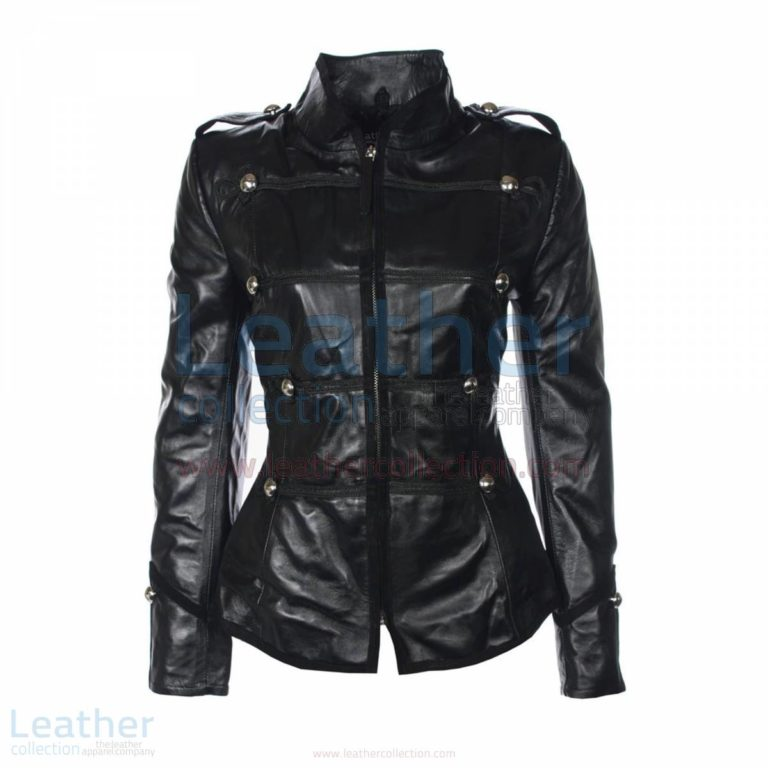 Princess Military Leather Jacket –  Jacket