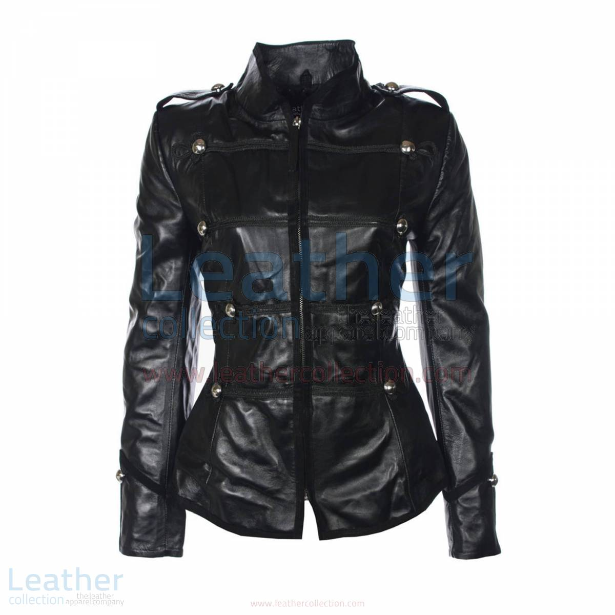 Princess Military Leather Jacket –  Jacket