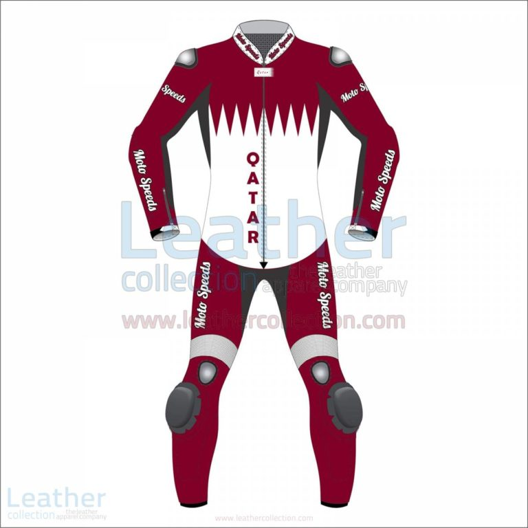 Qatar Flag Motorbike Race Suit –  Suit