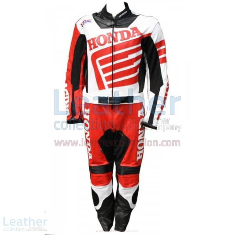 Honda Motorbike Racing Leather Suit – Honda Suit