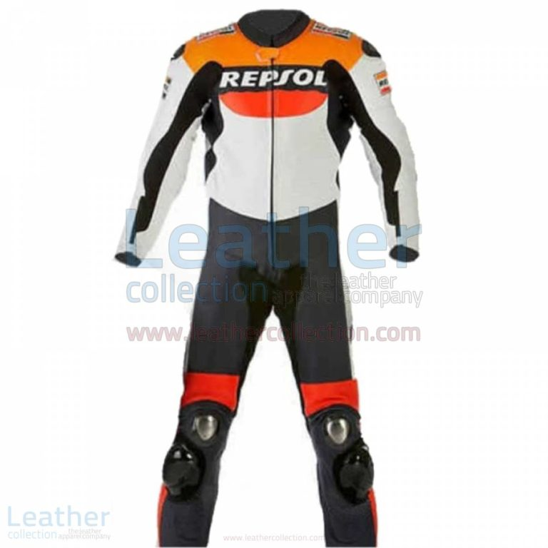 Repsol Motorbike Racing Leather Suit –  Suit