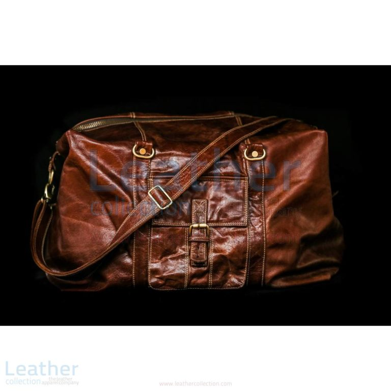 Rome Leather Motorcycle Luggage Bag –  Bag