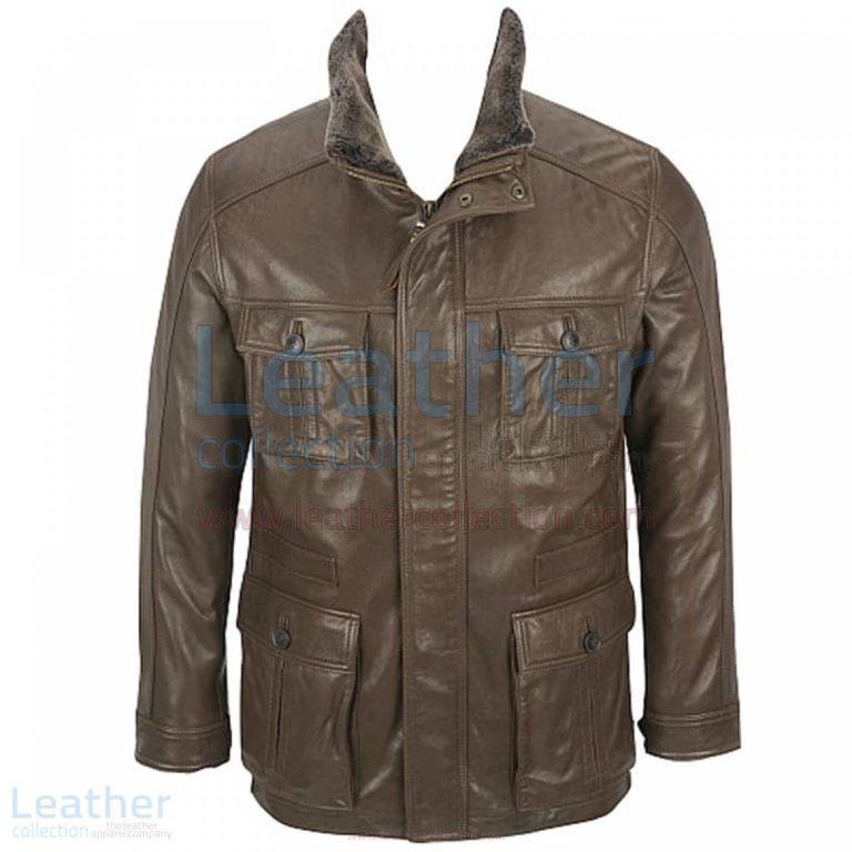 Rugged Lamb Parka with Removable Shearling Collar –  Jacket