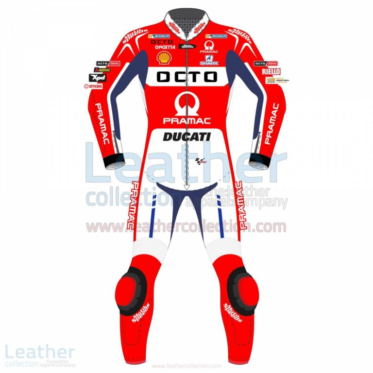 Scott Redding Ducati Pramac 2017 MotoGP Leather Suit – Ducati Suit