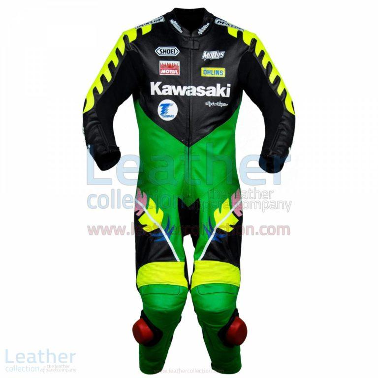 Scott Russell Kawasaki GP 1993 Leather Suit – Kawasaki Suit